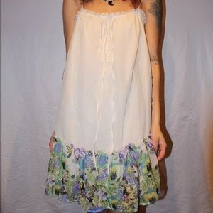 vintage babydoll flower dress